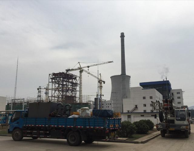 山东枣庄峄城1x220T/H新建锅炉清洗
