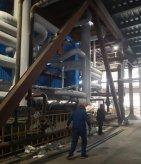 诸城某热电厂2X280TH新建锅炉清洗