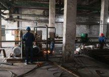 淄博某热电企业1X130TH运行锅炉清洗